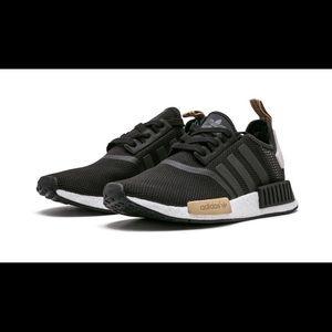 Adidas NMD R1 tan and black